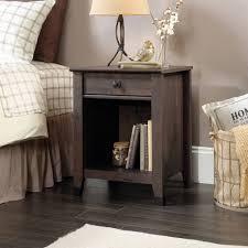 Sauder Bedroom Furniture Sauder Carson Forge Night Stand Coffee Oak Walmart Com