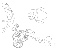 walle coloring pages e coloring page virtren com
