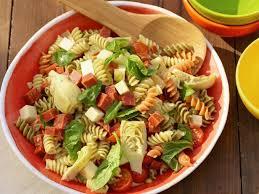 recipes for pasta salad italian pasta salad recipe the neelys food network