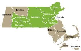 map of massachusetts counties massachusetts pace service areas