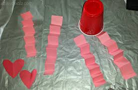 red solo cup valentine u0027s day craft for kids heart man crafty