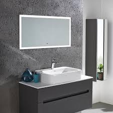 roper rhodes beat illuminated stereo bluetooth mirror mle420 flush b