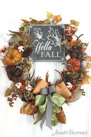 Halloween Picks For Wreaths by Wreaths For Fall Learn To Make A Wreath