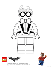 grayson lego batman movie coloring pages printable