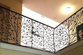 Decorative Wrought Iron Railings Indoor Railing Custom Wrought Iron Work
