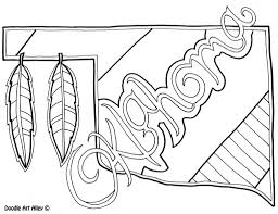oklahoma coloring page by doodle art alley at eson me