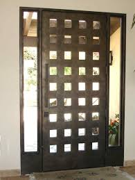 guideline to add contemporary white modern front door with