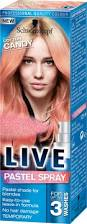 live pastel spray cotton candy pink wash out hair dye things