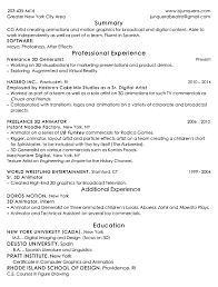 Freelance Artist Resume Digital Artist Resume Eliolera Com
