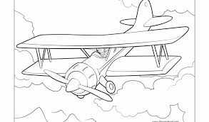 airplane coloring pages free printable 9881