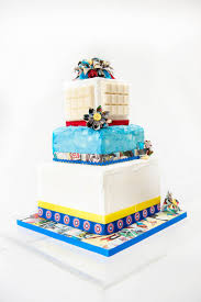 Origami Wedding Cake - themed wedding ideas bespoke wedding