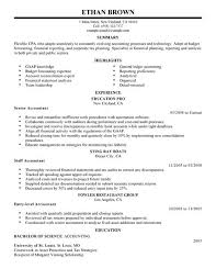 Financial Resume Example best accountant resume example livecareer