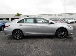 new 2017 toyota camry xse 4d sedan in sarasota hu703547 toyota
