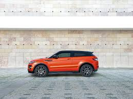 orange range rover evoque land rover range rover evoque autobiography dynamic 2015