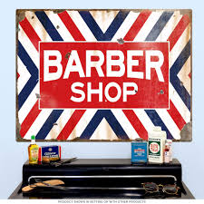 barber shop x stripes wall decal distressed striped walls barber shop x stripes wall decal distressed