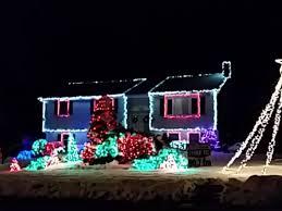 christmas light display to music near me check out this christmas light display to let it go in one north