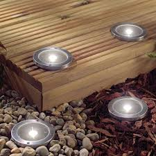 small solar lights outdoor solar decking light pack of 2 lights