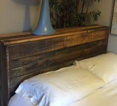 planked headboard waterbed build do it yourself home projects