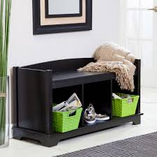 furniture marvelous foyer bench with storage nu decoration