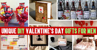 valentines gifts for guys unique diy s day gifts for men