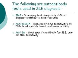 Testing Report Sle by Connective Tissue Diseases Ppt