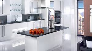 gloss kitchen ideas 17 white and simple high gloss kitchen designs home design lover