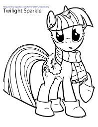 my little pony twilight sparkle princess coloring pages