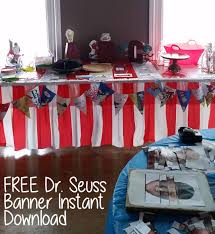 dr seuss themed baby shower if i ran the party