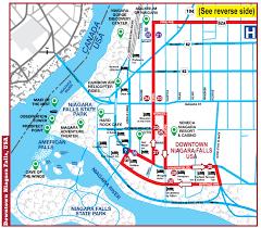 Green Line Metro Map by Nfta Metro Metro U0027s Niagara Falls Trolley