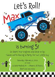 truck birthday party free printable truck birthday party invitations free