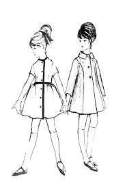 line drawing illustration children u0027s clothes had much shorter