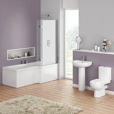 Bathroom Shower Suites Sale Ivo Modern Shower Bath Suite At Plumbing Uk