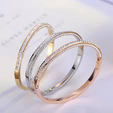 titanium bangle bracelet images 2017 rose gold bangles latest designs titanium steel gold bangle jpg