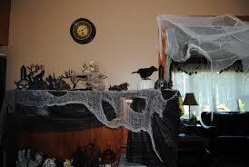 Halloween Decor Clearance Indoor Halloween Decor Homes Decorated For Halloween Halloween