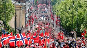 national day of norway in oslo 17th of may syttende mai