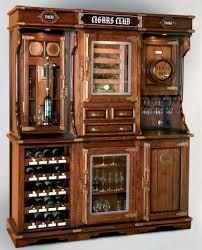 unique cabinet unique cigar and wine cabinet with a humidor