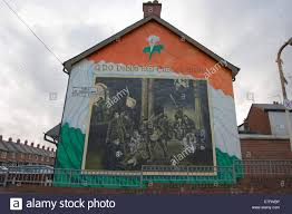 gpo 1916 dublin easter rising republican wall mural painting stock photo gpo 1916 dublin easter rising republican wall mural painting ardoyne north belfast northern ireland