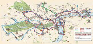 Eurostar Route Map by London Hop On Hop Off Sightseeing With Big Bus Tours London Tours