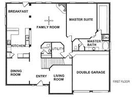 floor plans for new homes create home floor plans excellent floor plans for new homes to get