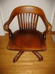 h krug wood office chair antique appraisal instappraisal