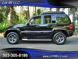 2003 jeep liberty renegade 4x4 5 speed manual moon roof for sale