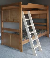 white bunk bed ladder u2014 optimizing home decor ideas build a