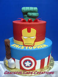 birthday cakes images most popular marvel birthday cakes design