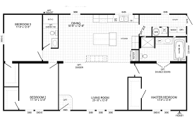 2 Bedroom Double Wide Floor Plans Double Wides In Stock Country Estatehousing L C