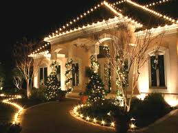 story with landscape lighting