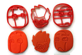 pj masks villain romeo ninja linos night ninja cookie cutter