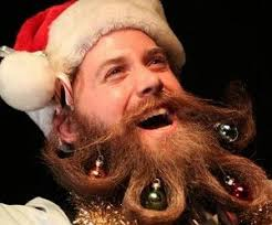beards like to celebrate the holidays tis the season to be