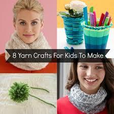 8 yarn crafts for kids to make favecrafts com