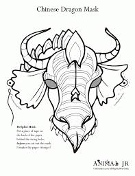 chinese dragon face coloring page babsmartin com babsmartin com