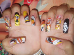 16 scary nail designs images scary halloween nail art designs